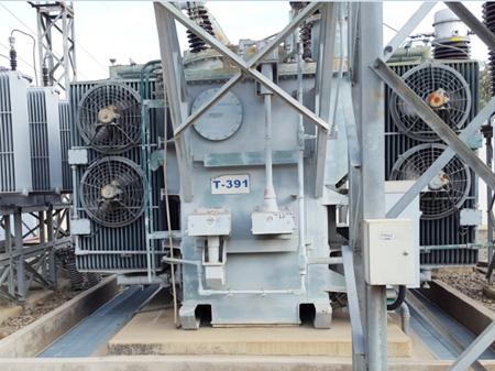 S/E Cala Cala, Reemplazo trafo T-391 por 25 MVA en 24,9 kV.