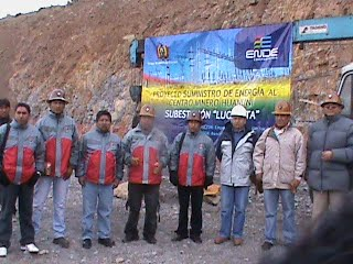 PROYECTO SUMINISTRO A HUANUNI