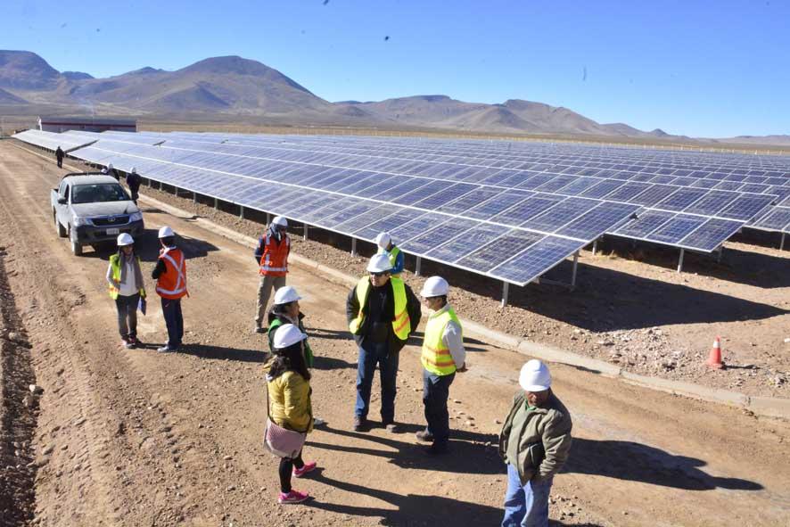 PROYECTO:  INGENIERÍA DE DETALLE, SUMINISTRO, CONSTRUCCIÓN, MONTAJE, PRUEBAS Y PUESTA EN SERVICIO DE LA PLANTA SOLAR FOTOVOLTAICA YUNCHARÁ DE 5 MW y SU INTEGRACIÓN AL SIN